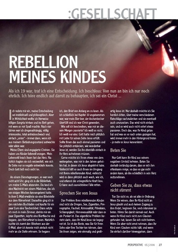 Perspektive 2008 05 rebellion meines kindes